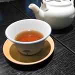 レストラン御倉 - いわゆる焙じ茶ですっけ?