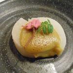 Nozomi - 上品な薄味で炊かれた春大根に、木の芽味噌 2015.3