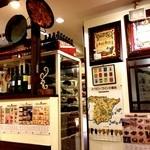 スペイン料理銀座エスペロ - 入り口付近