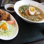 天心軒 - 天心軒 冷麺ととり天のセット 1,050円
