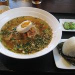 天心軒 - 天心軒 冷麺とおにぎりセット 700円