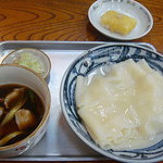 小山屋食堂 - 料理写真:川幅うどん 肉汁