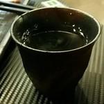 古武士 - 温かいお茶あります!