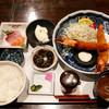 魚神 - 料理写真:大海老ふらい御膳