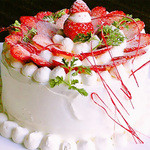 トラットリア ウォールストリート - 記念日に!ホールケーキ承ります!