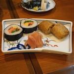 総本家更科堀井 - そば寿司