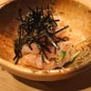 鳥よし - 料理写真:酢〆の鶏わさ