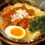 上尾らぁめん - 料理写真:期間限定★豚骨トマトカレーラーメン