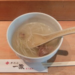 牛たん一徹 - テールスープ(一徹定食)
