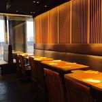 鉄板焼 天 本丸 - 小宴会〜20名様までの大宴会のお席もあります。
