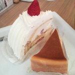 4812954 - イタリアンショート、ベイクドチーズケーキ