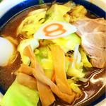 8番らーめん - ラーメン 醤油