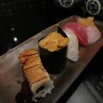 えんどう寿司 - ゑんどう_京橋_料理_上まぜ①