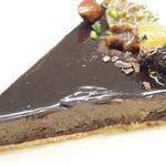 48124235 - チョコレートのタルト