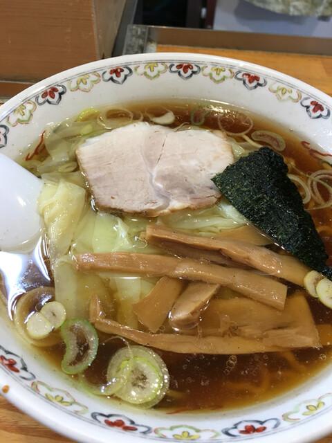 春木屋 荻窪本店 - ワンタン麺 1250円