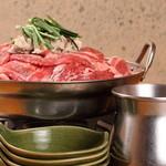 ボリュームのあるお肉たっぷりの『てっぽう牛肉鍋(3~4人前) 大』