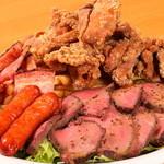 毎日のいいお肉を使用したお肉料理の『げんさんの肉1ポンド盛り』