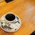 48125304 - モーニングセットのコーヒー