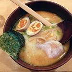れんげラーメン - 【ラーメン れんげ + 煮たまご】¥650 + ¥80
