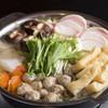 chanko MASUIYAMA - 料理写真:鶏つくね醤油ちゃんこ