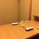 うなぎ 赤坂 勢きね - 個室