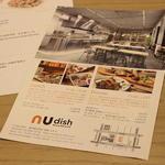 nu dish Mousse Deli & Cafe - ■コンセプトが分かりやすいチラシ、いいね!