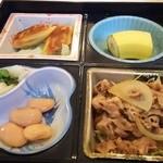 はっぴー - 日替りお弁当 600円 メインはしょうが焼き