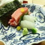 懐石料理 桝田 - トロと針烏賊