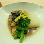 懐石料理 桝田 - 河豚の煮物