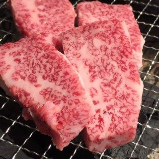 炭火焼肉【厚切りロース】