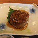 加西サービスエリア(下り線)レストラン - 『大根ハンバーグ和風甘酢あんかけ』♪