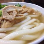 48130522 - 製麺所特注の極太麺。