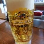 立ち飲み日高 - 生ビール(310円)