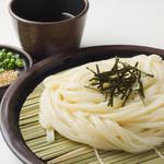 中井麺処 うどんそば専門コーナー - ざるうどん   440円