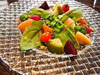 リセラ リナーシェ - 日替りパスタランチコース(有機野菜10種のチーズフォンデュ)