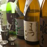 日本酒、焼酎、梅酒飲み放題!!1800円(税抜き、カード不可)