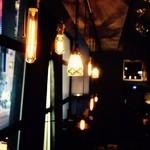 イニシャル - エジソンランプ、癒される優しい照明
