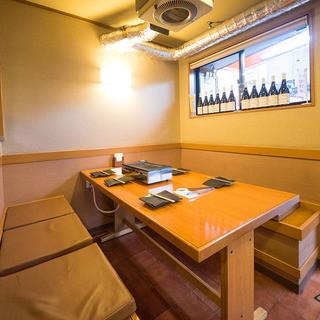 【半個室】テーブルボックス席