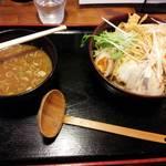まごころ「愛」居食庵 秋田美人 - ネギつけ麺