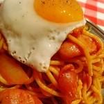 スパゲッティーのパンチョ - 太麺  de  もちもち