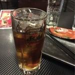 古武士 - 【飲み放題30分】のウーロン茶で締めです。
