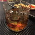 古武士 - 【飲み放題30分】の梅酒。確かロックのみ?