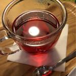 グッドニュースカフェ - 北欧ベリーのハーブティー 360円