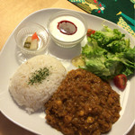 グッドニュースカフェ - トマトと豆のキーマカレー 650円