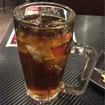 古武士 - 【飲み放題30分】のウーロンハイ。安定の一杯。