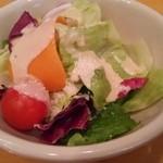 パンネビーノ - ランチのサラダ