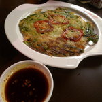 炭火焼肉 仁 - ニラチヂミ
