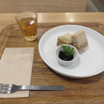 シンシアガーデンカフェ - ヴィーガン・チーズケーキ(ハーフ)1