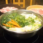 モーモーパラダイス - <'16/02/29撮影>肉の日食べ放題 1390円 の野菜盛り合わせ