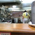 麺壱 吉兆 - 厨房